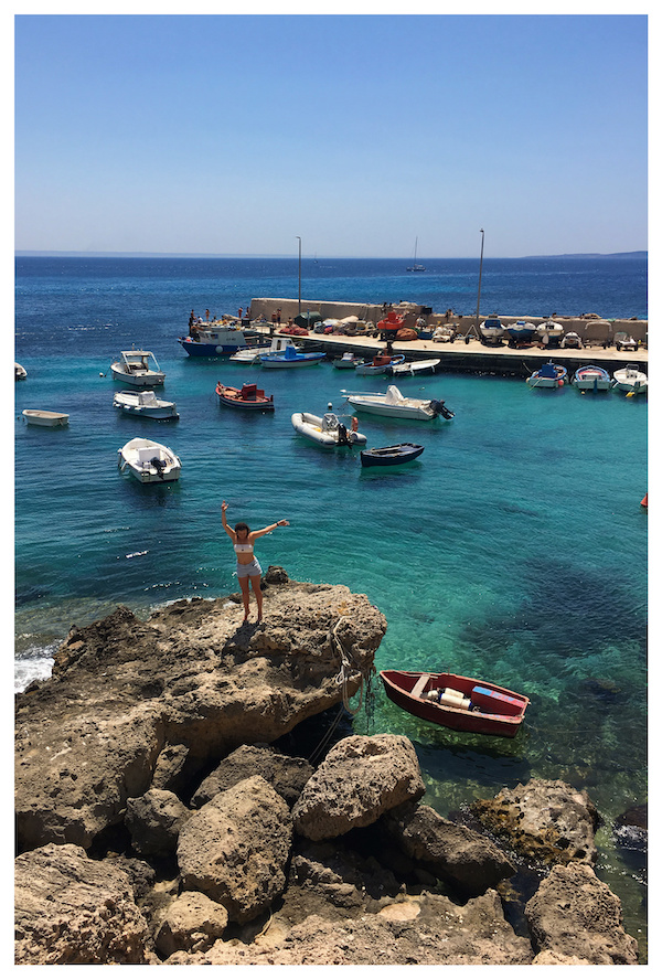 Levanzo, Aegadian Islands, Italy